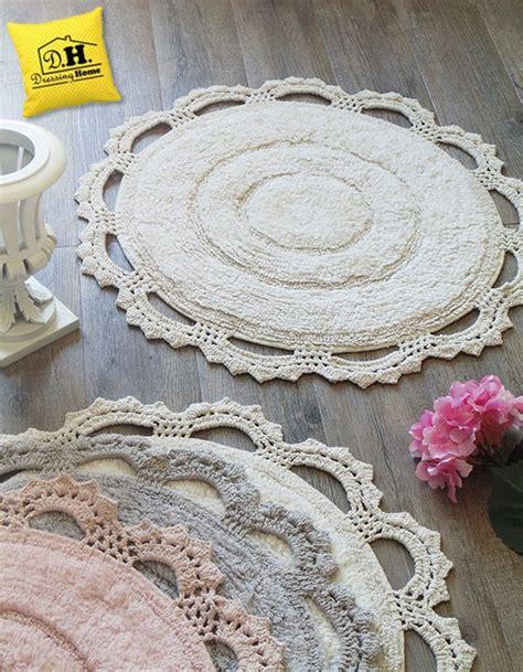 tappeti crochet oltre 25 fantastiche idee su tappeto shabby chic su