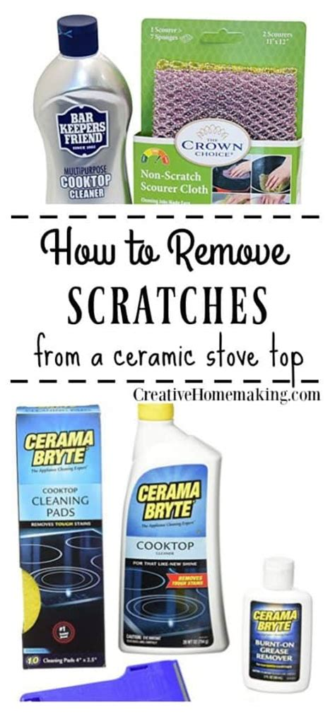 ceramic cooktop scratches how to remove scratches from a black ceramic stove top