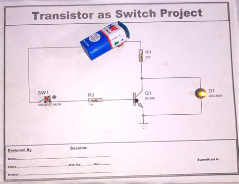 transistor npn as switch problems getting npn bipolar transistor to switch on electrical enter image description here