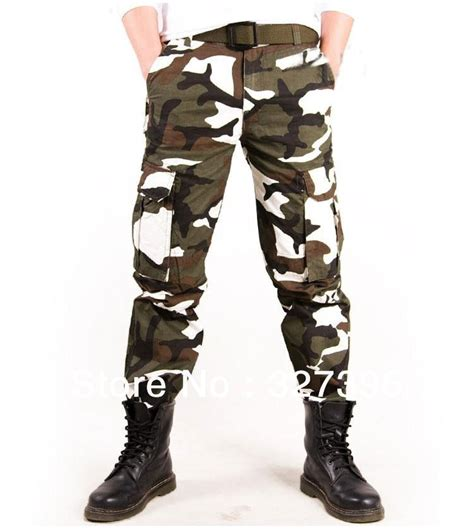 army pattern jeans men military tactical outdoor casual camouflage cargo