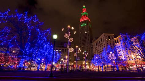 christmas lights cleveland ohio winter fun all month long in dtcle our dynamic downtowncle
