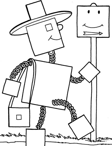 simple robot coloring page free coloring pages of simple robot