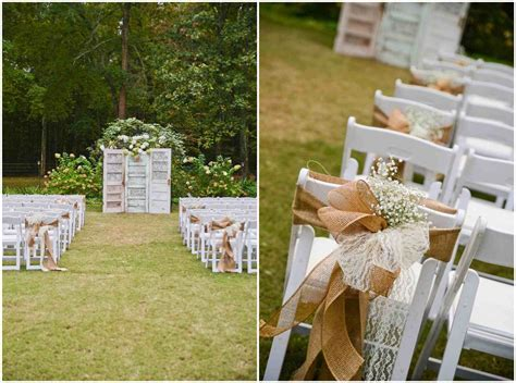 Vintage Backyard Wedding Ideas Wedding Reception Ideas Vintage Outside Country Backyard