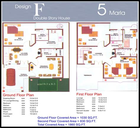 home design 6 marla 5 marla design f final civil engineers pk
