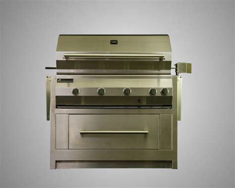 Stand Alone Drawers by 8 Burner Stand Alone Grill With Rotisserie And Drawer Cart