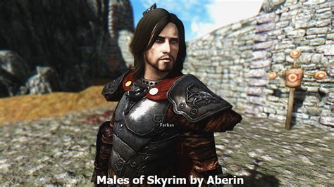 skyrim male hair mod skyrim hair mod male the newest hairstyles