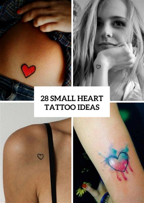 cute small heart tattoos 28 small ideas for styleoholic