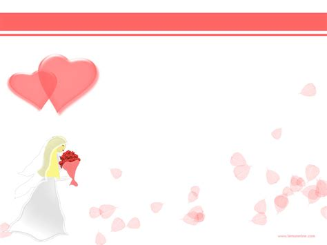 free wedding powerpoint background pictures and wedding