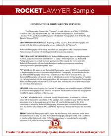 newborn photography contract template photography contract template for weddings portraits events