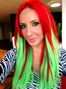 neon hair color neon hair dye