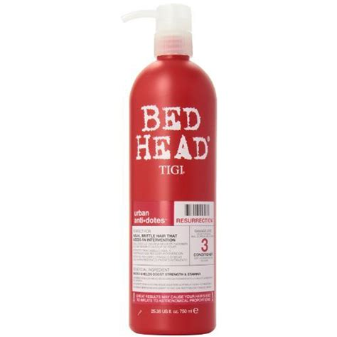 bed head resurrection tigi bed head urban antidotes resurrection shoo tigi tigi
