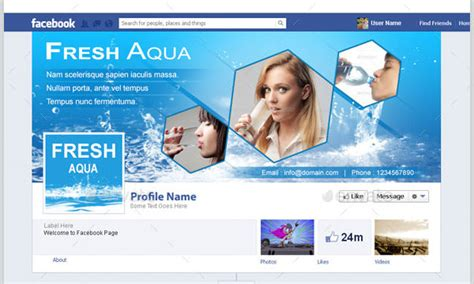 20 facebook business page templates free premium