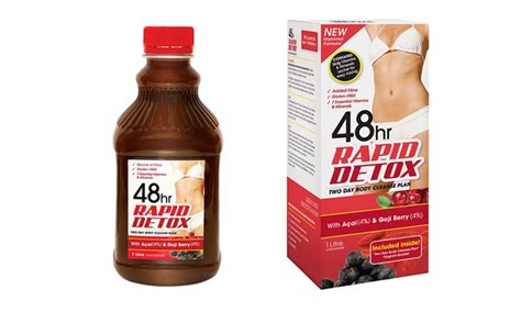 48hr Rapid Detox Results by 48hr Rapid Detox 2 Day Cleanse Groupon Goods