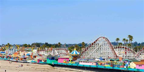 santa cruz beach boardwalk visit california