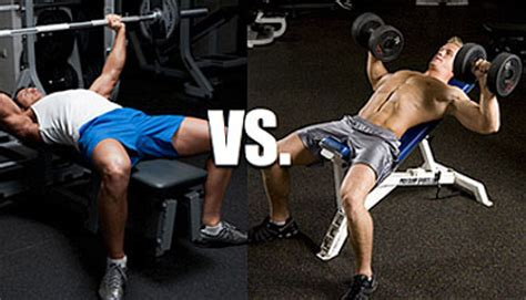 dumbbell chest press vs bench press physique elite dumbbell bench press weight vs barbell