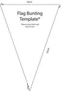 sided bunting template decodolly