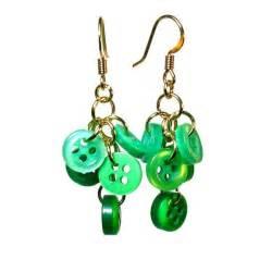 unique earrings handmade earrings jewelry blukatdesign handmade artisan jewelry