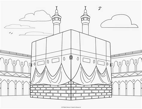 Hajj Coloring Pages hajj coloring pages
