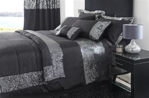 sparkly comforters silver sequin bedding home pinterest