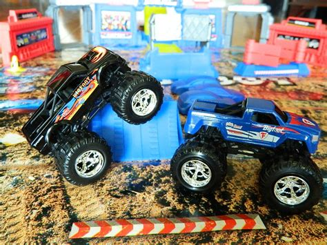 toy monster trucks videos best bigfoot monster truck toy photos 2017 blue maize