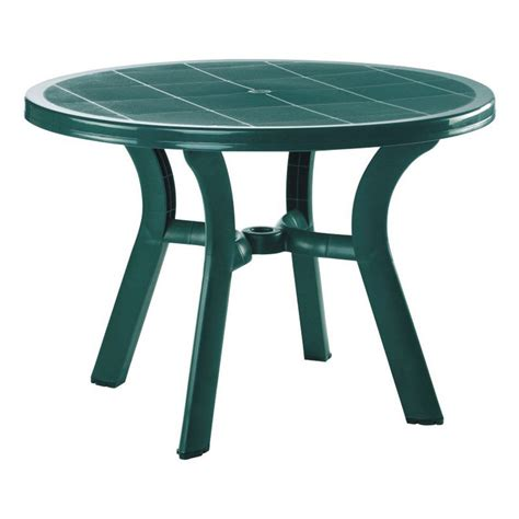 compamia truva resin dining table patio dining