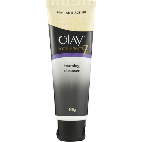 Olay Total Effects Cleanser olay total effects 7 in 1 foaming cleanser 100ml woolworths