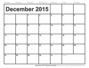 Calendar Template 2015 by December 2015 Calendar Template