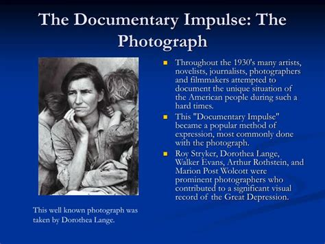 the documentary impulse ppt surviving hard times powerpoint presentation id 6384881