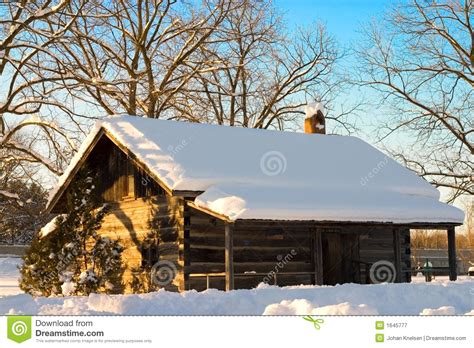 Snowmobile Cabin by Snow Cabin Stock Image Image Of Built History Canada