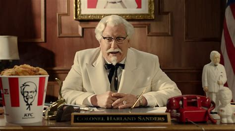 ky commercial actress darrell hammond the new colonel sanders on the art of