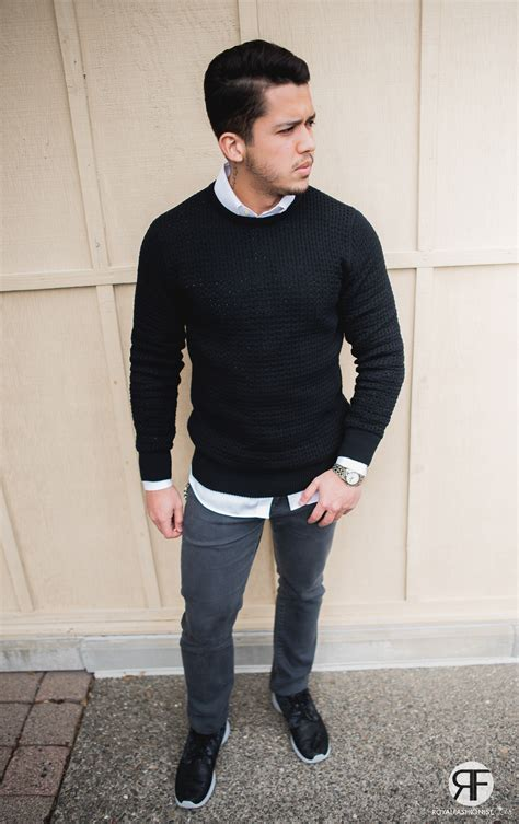 And Black Sweater s idea camouflage trainer sneaker black