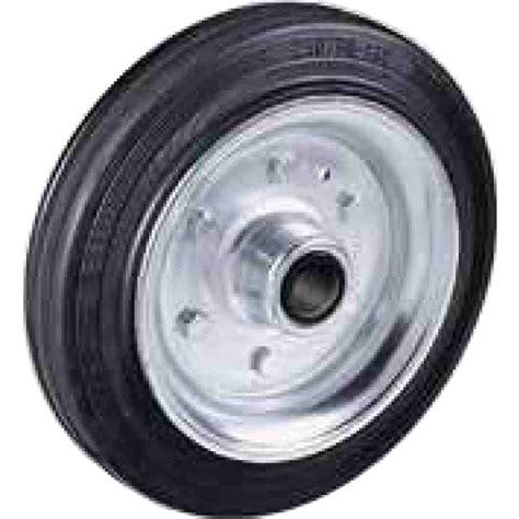 ruote per ruote per carrelli in gomma piena disco in ferro