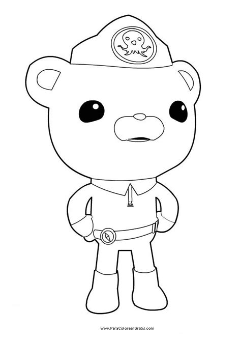 free coloring pages of octonauts dashi