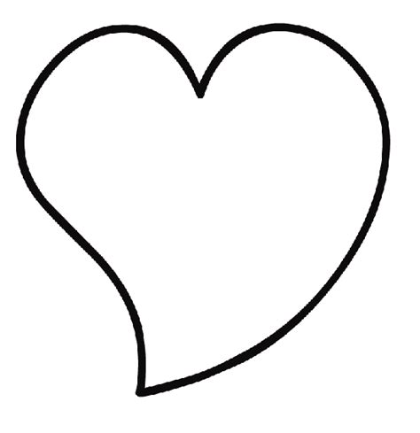 free coloring pages of a love heart