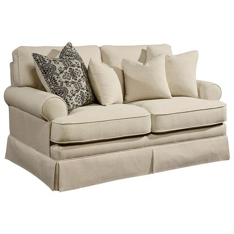 ivan smith sofas magnolia home by joanna gaines heritage loveseat ivan