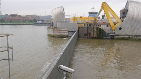 thames barrier closure event behind london s wall of steel designing the thames