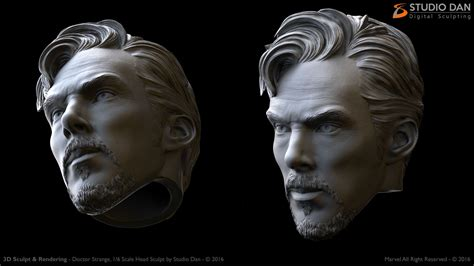 City Color Sculpt Marvel Set 1 3d sculpt 1 6 scale studio dan digital sculpting