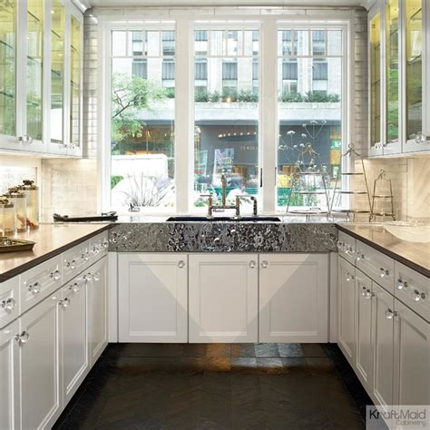Houzz Kitchen Backsplash by Kraftmaid Maple Cabinetry In Dove White Traditional