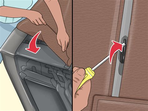 how to remove back of recliner sofa 3 ways to dismantle a recliner sofa wikihow