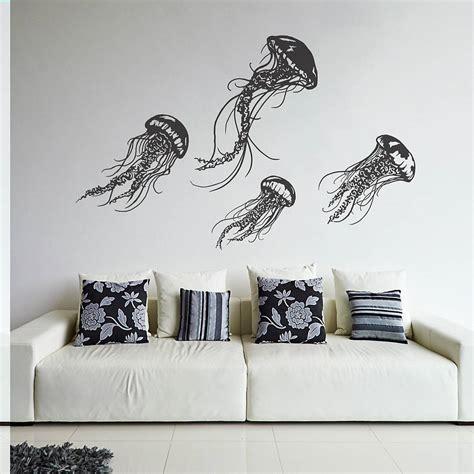design graphics wall decor wall art ideas design grey oakdene jellyfish wall art