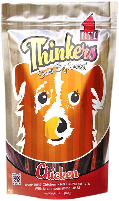 plato treats plato new thinkers chicken sticks treats treats petflow