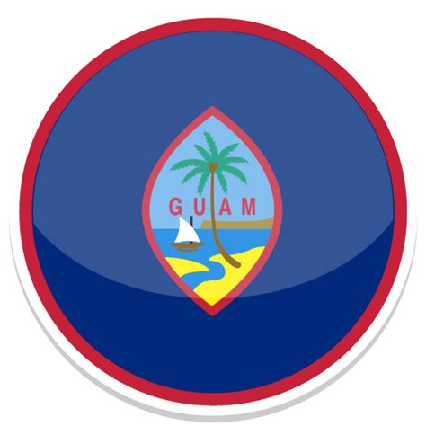 flags of the world round guam icon round world flags iconset custom icon design