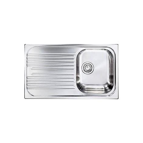 lavello acciaio antigraffio cm atlantic 010593dcssx lavello 1 vasca a destra