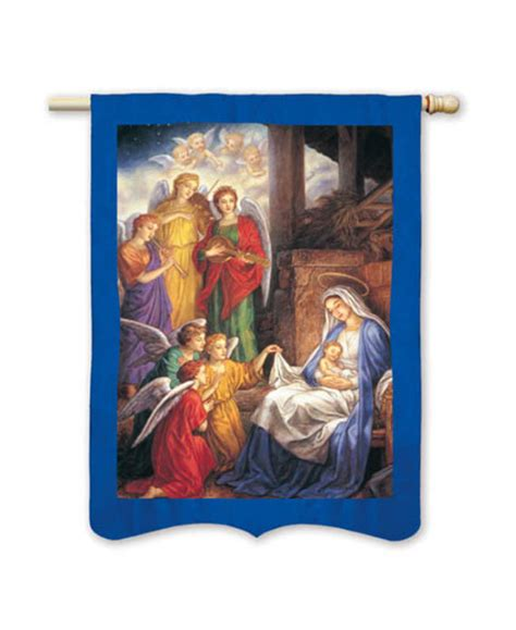 nativity house flag