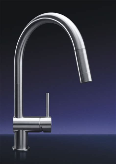 mgs designs ve p vela single pull out kitchen faucet