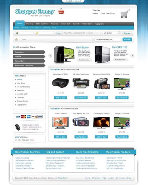 joomla shop template free 20 joomla ecommerce templates web3mantra