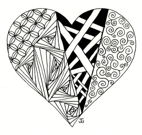 my heart drawing by jennifer c griffen