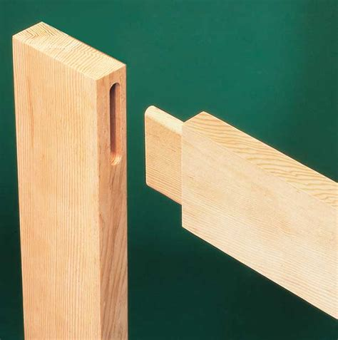 mortise  tenon joints woodworkers journal