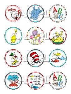 dr seuss edible cupcake toppers by itsedible on etsy