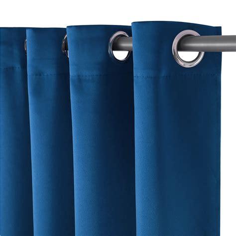 blaue gardinen schals 140x245cm gardinen 214 sen blau schal vorhang dekoschal